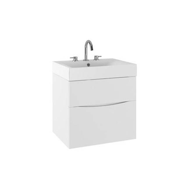 Crosswater London MPRO 24'' Vanity White Gloss