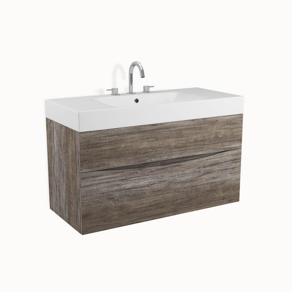Crosswater London MPRO 39'' Vanity Driftwood