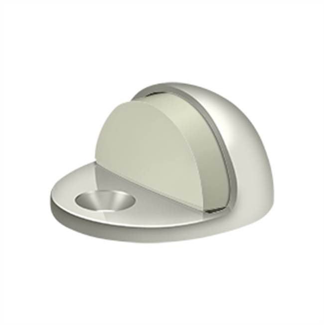 Deltana Dome Stop - Low Profile, Polished Nickel Polished Nickel