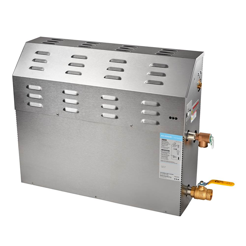 Mr. Steam eSeries Max 24kW Express Steam Bath Generator at 240V With Express Steam