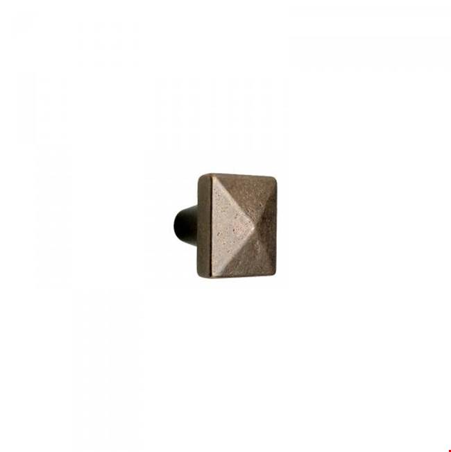 Rocky Mountain Hardware Cabinet Hardware Cabinet Knob, Square
