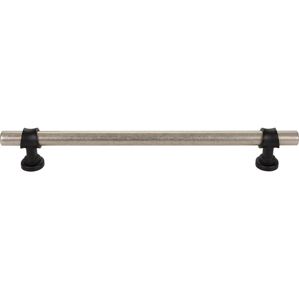 Top Knobs Bit Appliance Pull 12 Inch (c-c) Pewter Antique and Flat Black