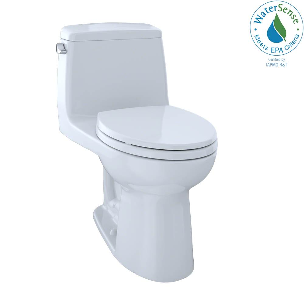 Toto Eco UltraMax® One-Piece Elongated 1.28 GPF Toilet, Cotton White